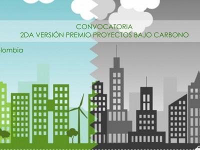 Convocatoria Premios Proyectos Bajo Carbono – Colombia 2017